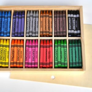 Vokskritt Jumbo 12x12 farger