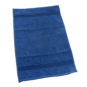 Frottéhåndkle 30x50cm marineblå