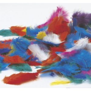 Påskefjær assorterte farger (200)