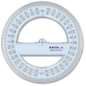 Gradskive i plast sirkel 10cm (10)