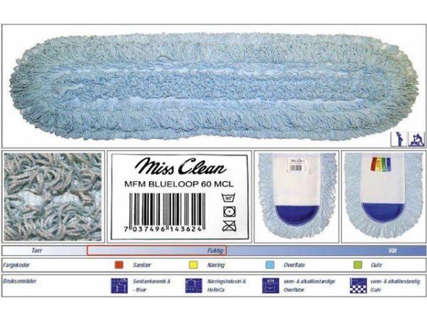 Mopp MISS CLEAN BlueLoop m/lomme