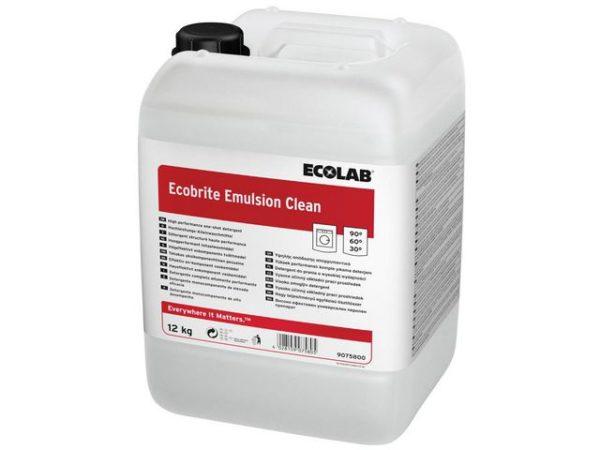 Tøyvask ECOLAB Ecobrite Emulsion 12kg