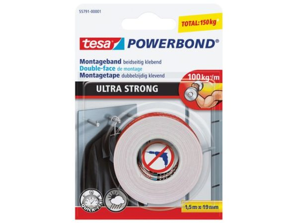 Monteringstape TESA sterk 19mmx1
