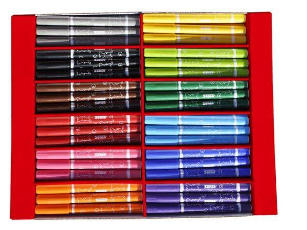 Fiberpenn SENSE Jumbo 12 farger (108)