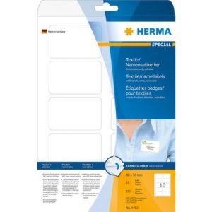 Etikett HERMA navn A4 80x50 (250)