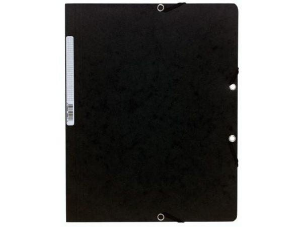 Strikkmappe EXACOMPTA A4 u/kl 400g sort