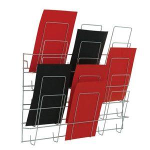 Brosjyrestativ 3x5 hyller A4 veggmodell