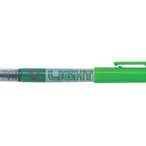 Tekstmarker PILOT V Liquid Light grønn