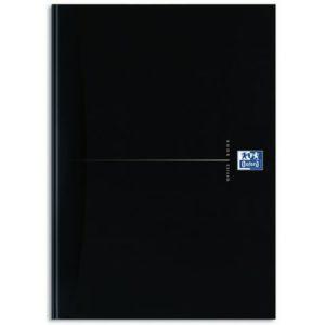 Skrivebok OXFORD Smart Black A4 linjer
