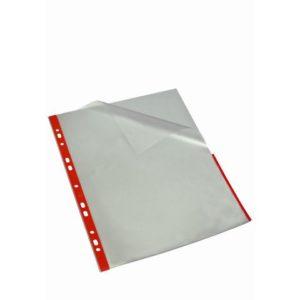 Signallomme BANTEX A4 PP 80my rød (25)