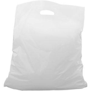 Bærepose plast 27x15x55cm 30my 15L (500