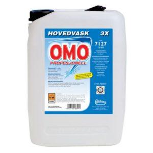 Hovedvask OMO Profesjonell 3X 12kg