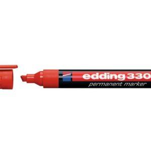Merkepenn EDDING 330 rød