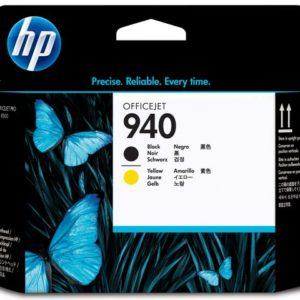 Skrivehode HP C4900A serie 940 sort/gul