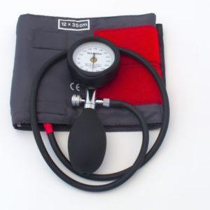 Blodtrykksmåler 1slang 12x35cm komplett