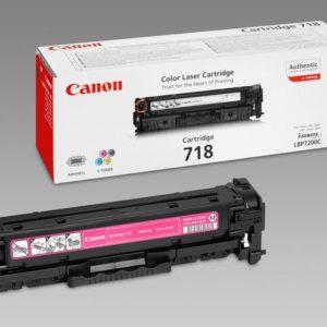 Toner CANON 718M 2.9K rød