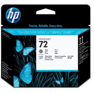 Skrivehode HP C9380A Serie 72 grå/svart