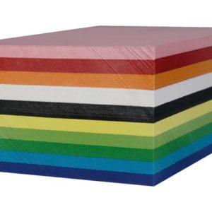 Kartong 180g A6 10 farger (250)