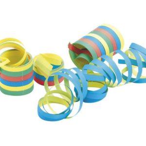 Serpentiner assorterte farger (180)