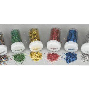 Strøglitter plast (6)