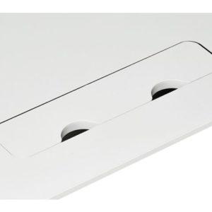 Bordplate KENSON 160x80cm hvit