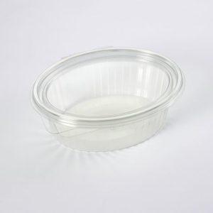 Plastbeger m/hengslet lokk 1000ml (300)