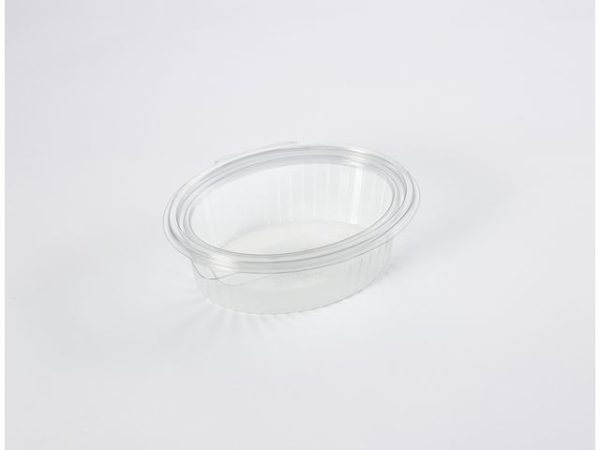 Plastbeger m/hengslet lokk 500ml (600)
