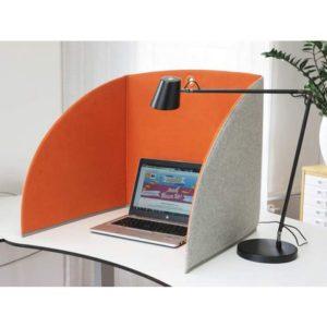 Bordskjerm MATTING StandUp 58 cm grå