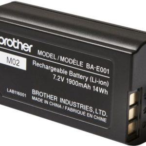 Batteri BROTHER Li-ion oppladbar BA-E001