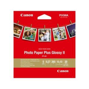 Fotopapir CANON PP-201 5x5inch (20)