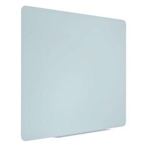 Glassboard BI-OFFICE magn. 90x60cm hvit