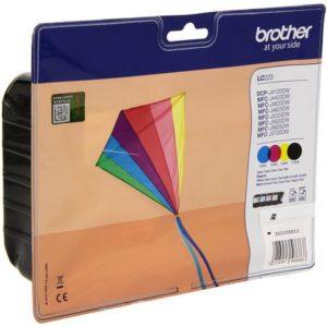 Blekk BROTHER LC223 Value Sort+CMY (4)