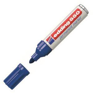 Merkepenn EDDING 550 blå