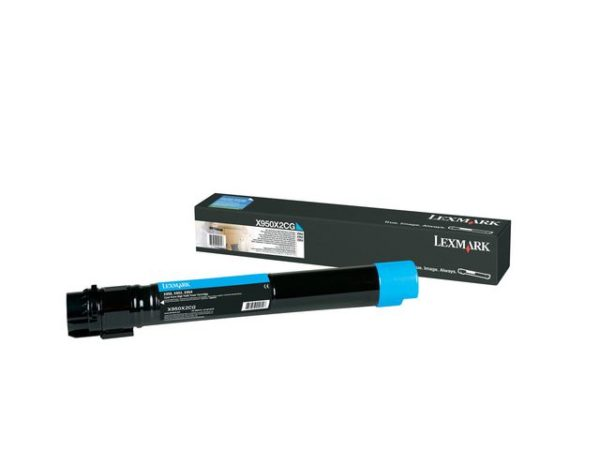 Toner LEXMARK X950X2CG 22K blå