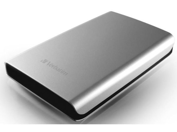 "Harddisk VERBATIM 2.5"" USB 3.0 1TB sølv"