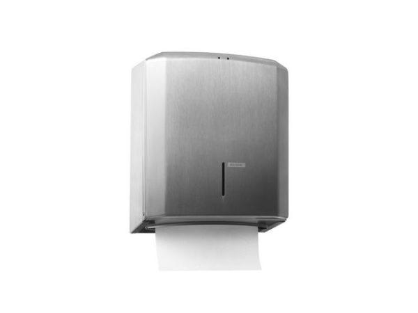 Dispenser KATRIN tørkeark c-fold stål