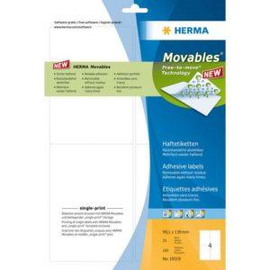 Etikett HERMA adr op A4 99