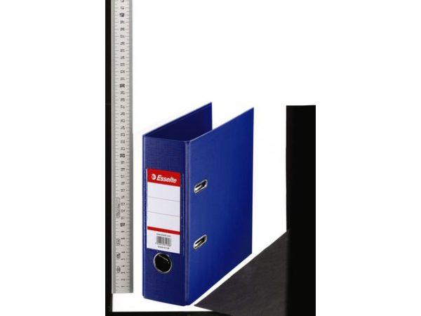 Brevordner ESSELTE No1 A5 75mm sk. blå