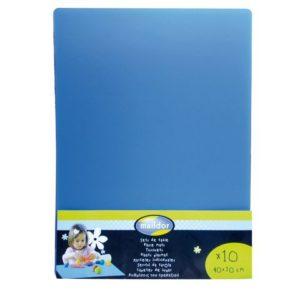 Bordbeskyttelse 40x30cm blå