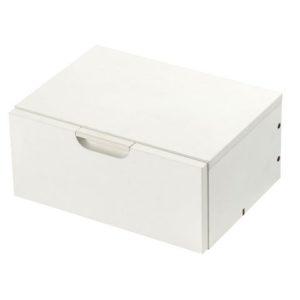 Skuffekassett KENSON liten 1 stk hvit