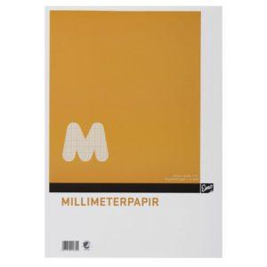 Millimeterpapir EMO A3 80g 50 blad