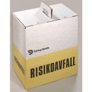 Avfallseske risikoavfall 44L