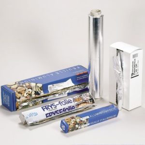 Aluminiumsfolie 23cmx27cm 13my (500)