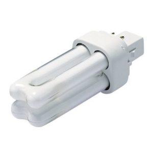 Kompaktlysrør GE D 13W/830 Varmhvit G24