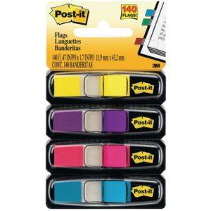 POST-IT Index 683 liten ass neonfarger