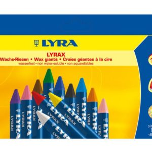 Bivokskritt LYRAX 12 farger