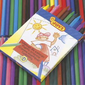 Plastkritt 12 farver