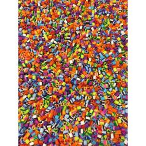 Nabbiperler i bøtte stripete (10 000)