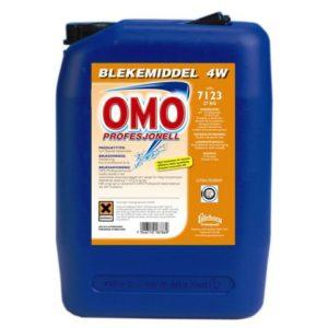 Blekemiddel OMO Profesjonell 4W 27kg