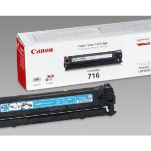 Toner CANON 716C LBP 5050 1.5K blå